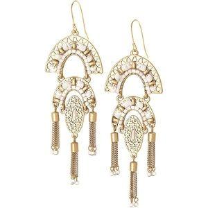 Stella & Dot Mirage Chandelier Earrings